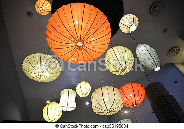 Luces de colores - csp35195834