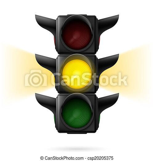 Luces de tráfico - csp20205375