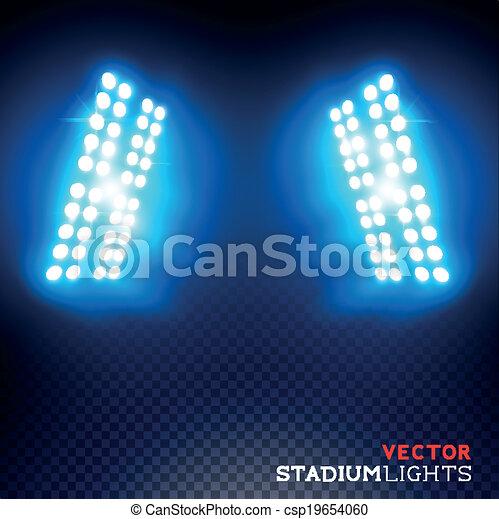 Luces de estadio Vector - csp19654060