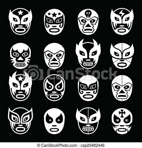 Lucha Libre Masque Mexicain Luchador