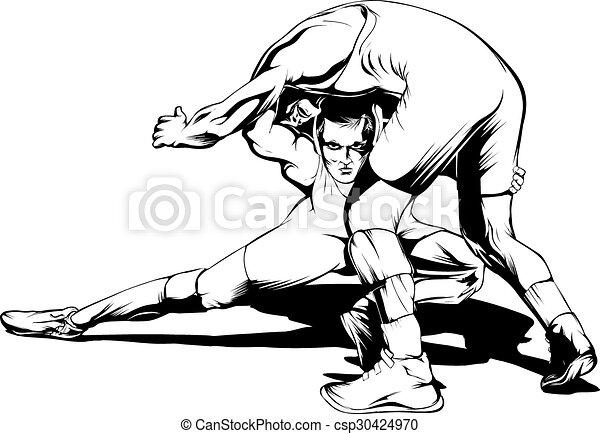 Movimiento de lucha - csp30424970
