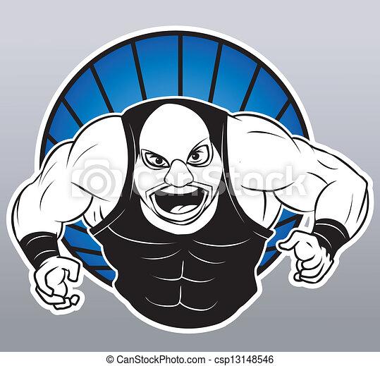Luchador - csp13148546