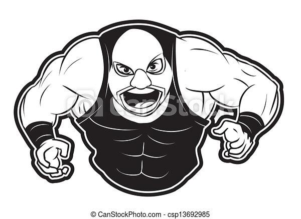 Luchador - csp13692985
