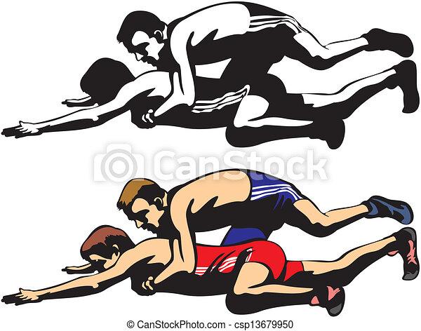Luchadores - csp13679950