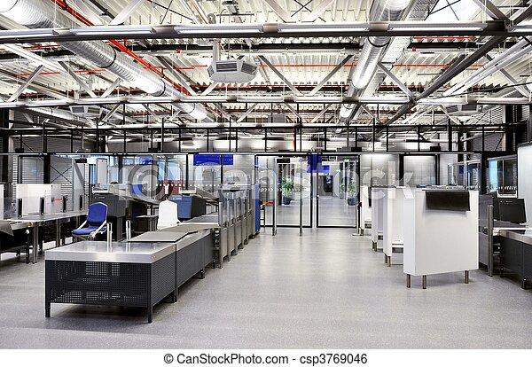 luchthaven zekerheid - csp3769046
