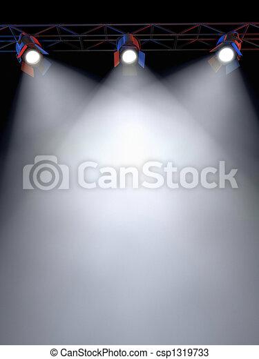 luci, palcoscenico - csp1319733