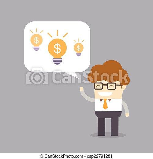 lucro, conceito, criatividade, negócio - csp22791281