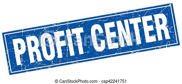 lucro, selo, quadrado, centro - csp42241751