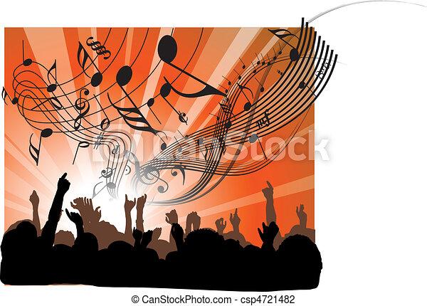 ludzie, koncert - csp4721482