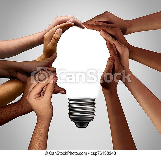 ludzki, idea - csp76138343