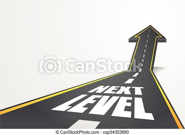 Camino al siguiente nivel - csp34353890