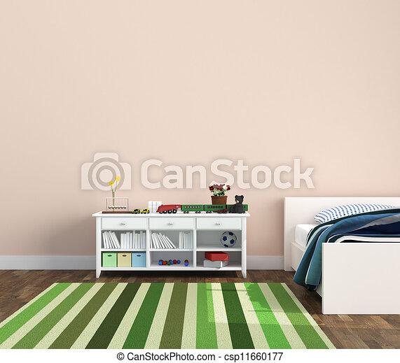 lugar crianças, playroom - csp11660177