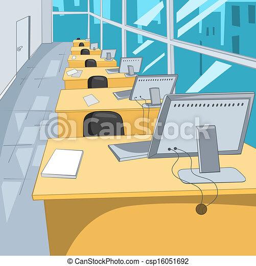lugar, escritório - csp16051692
