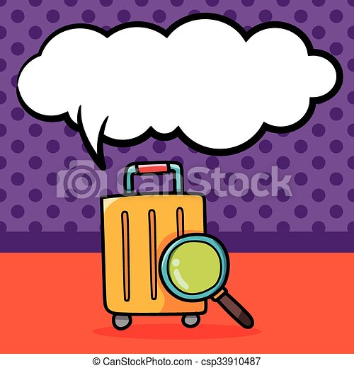 luggage doodle vector search clip art illustration drawings and rh canstockphoto ca luggage bag clipart luggage clipart images