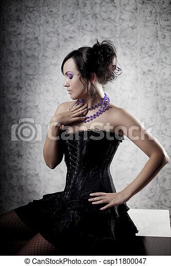 Mujer de lujo - csp11800047