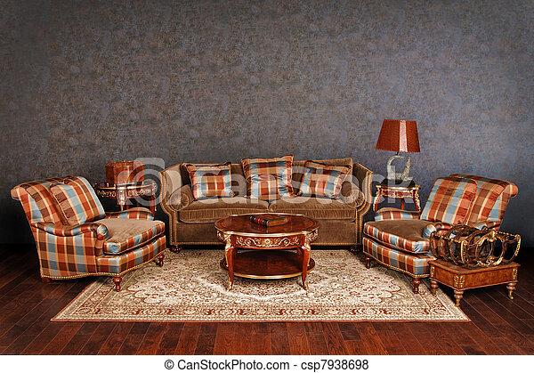Muebles lujosos - csp7938698
