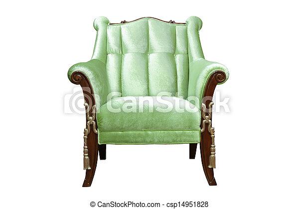 Un sillón lujoso - csp14951828