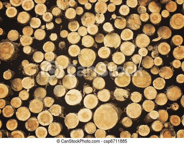 lumber background - csp6711885