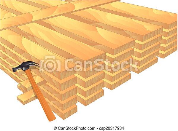 lumber - csp20317934