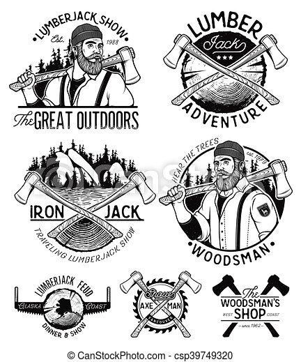 Axes Vintage woodsman