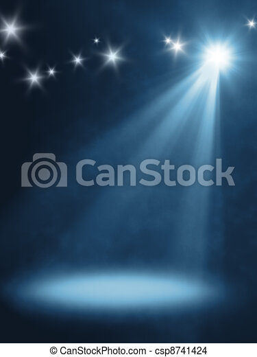 lumière, étape - csp8741424