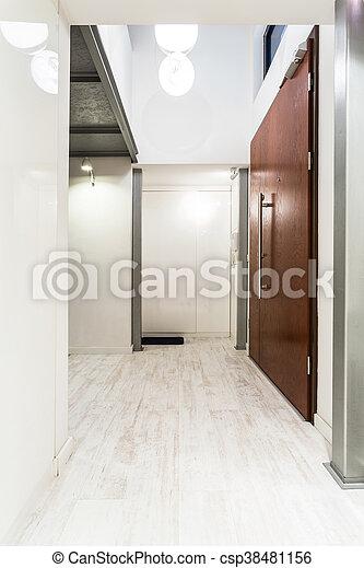 lumière, idée, couloir, maison