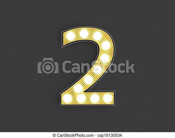 lumière, nombre, vendange, deux - csp16130534