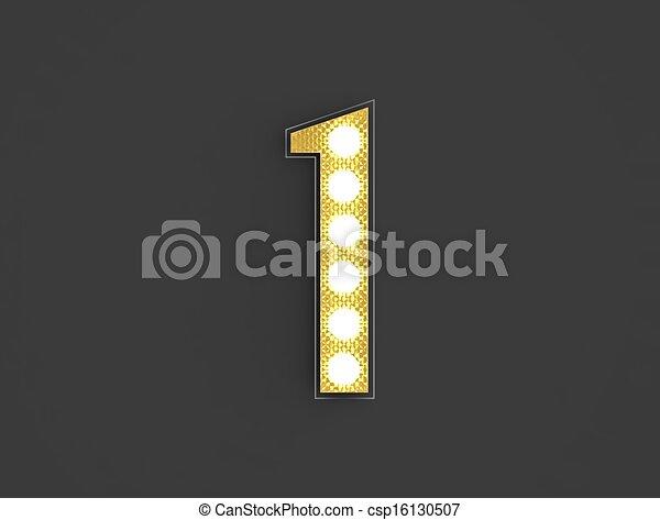 lumière, nombre, vendange, une - csp16130507
