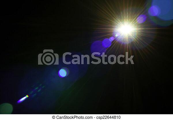 lumière, résumé, fond, flamme - csp22644810