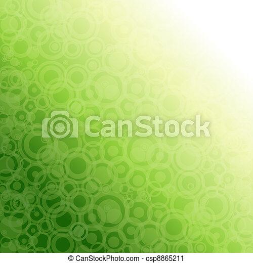 lumière, résumé, vert, arrière-plan. - csp8865211