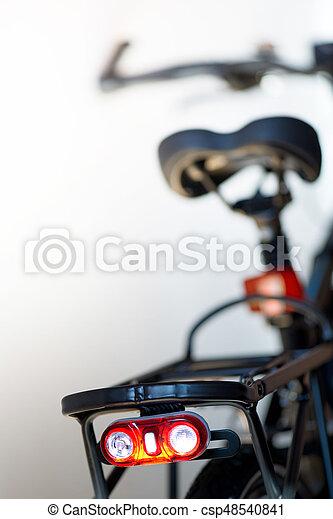 lumière, sécurité, vélo, scintillation, nouveau - csp48540841