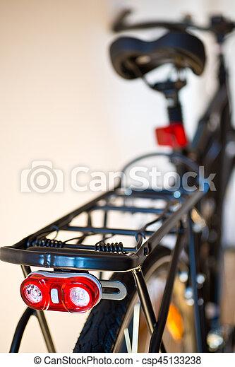 lumière, sécurité, vélo, scintillation, nouveau - csp45133238