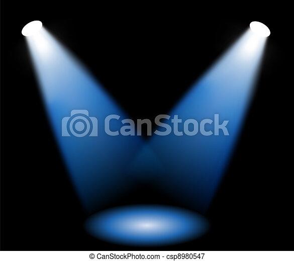 lumières, étape - csp8980547