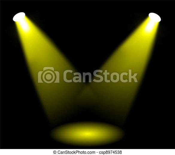lumières, étape - csp8974538