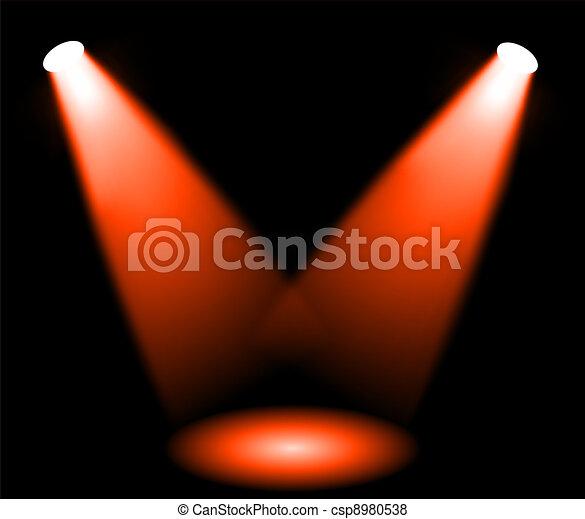 lumières, étape - csp8980538