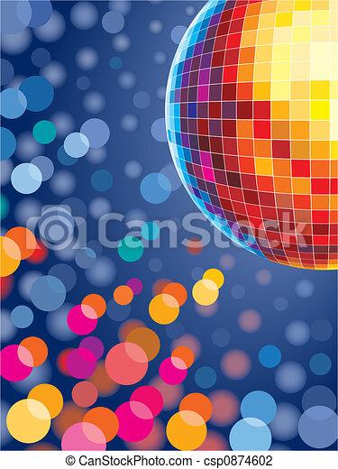 lumières, disco - csp0874602