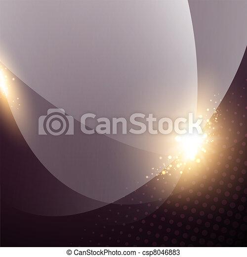 lumières, fond, résumé - csp8046883