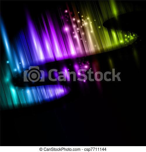 lumières, nord - csp7711144