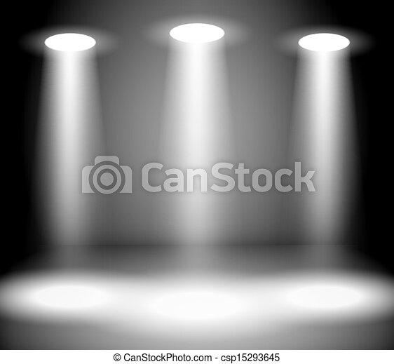 lumières, réflecteur - csp15293645