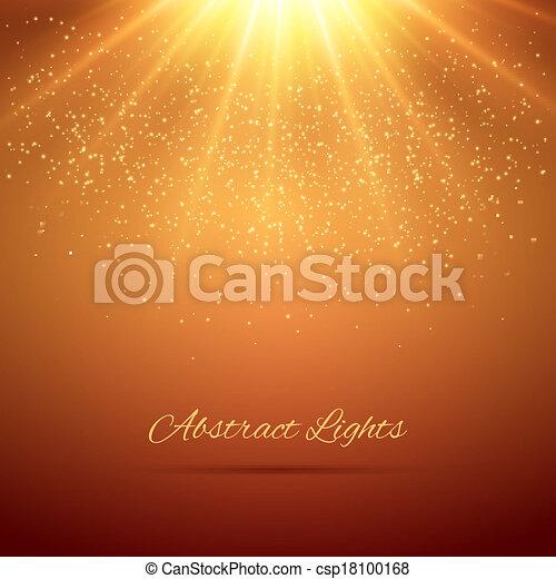 lumières, résumé, fond - csp18100168
