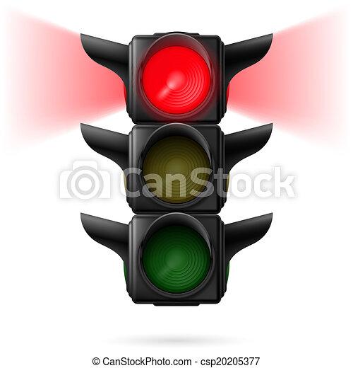 lumières, trafic - csp20205377
