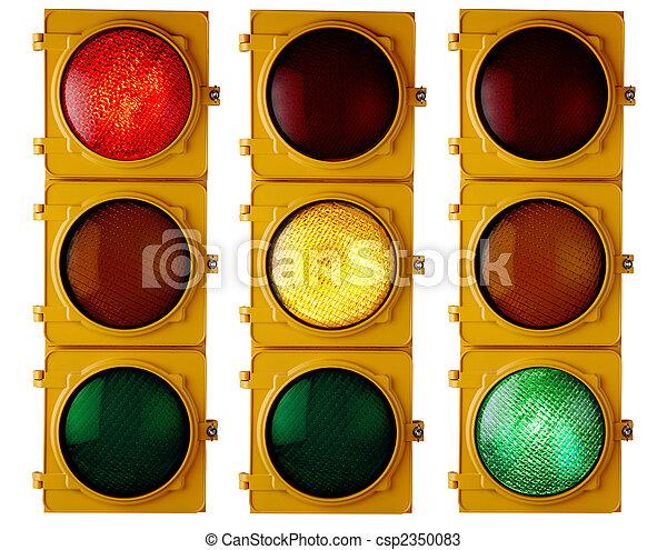 lumières, trafic - csp2350083