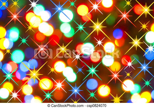 lumières, vacances - csp0824070