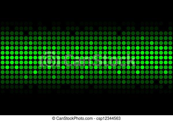 lumières, vert - csp12344563