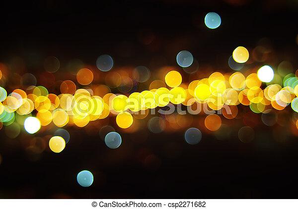 lumières, ville - csp2271682