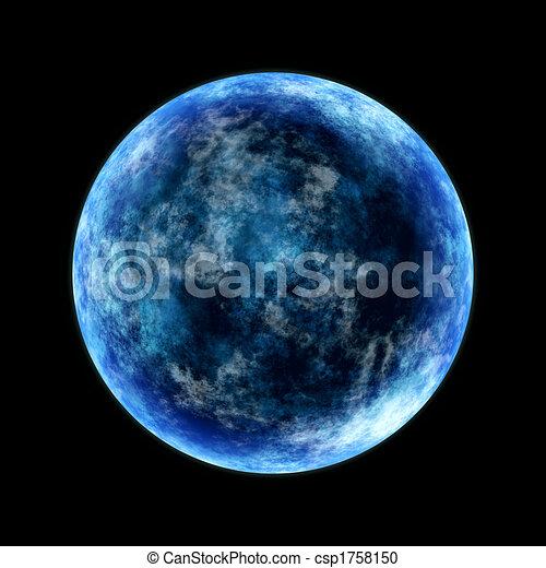 Luna azul - csp1758150