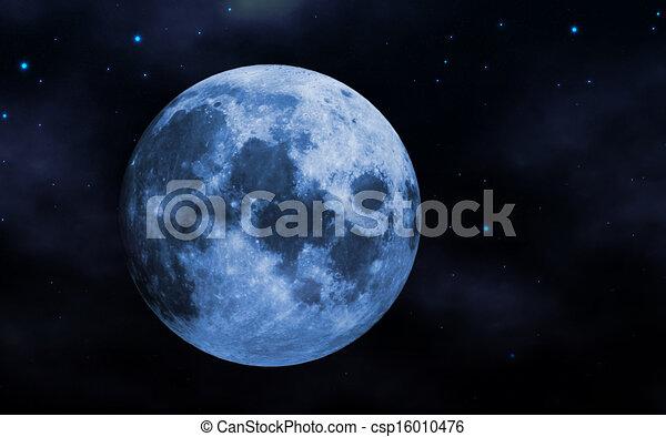 luna azul - csp16010476
