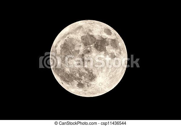 luna piena - csp11436544