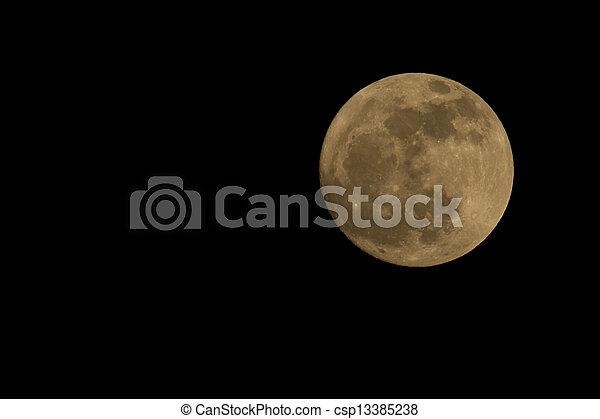 luna piena - csp13385238