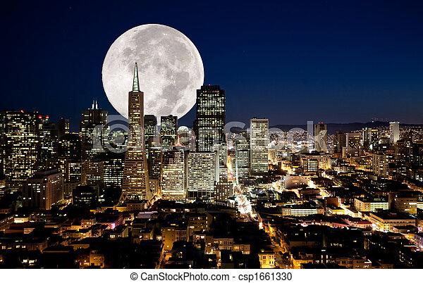 luna piena - csp1661330